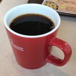 ミスタードーナツ - ブレンドコーヒーのお代わり無料
