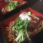 60666719 - ステーキ丼×2☆。.:*・゜