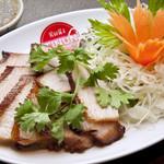 豚トロ肉のグリル「コー・ムー・ヤーン」