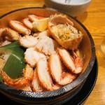磯金 漁業部 枝幸港 - 毛ガニ 2800円。