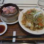 香港スイーツ ZEN 采蝶軒 - 五目あんかけ麺セット