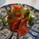 tessen - 陶板焼きの食材