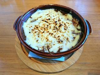 エアストリーム・カフェ - 焼きチーズカレー