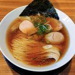 60669465 - 麺や食堂 246号店(味玉そば780円+ふわとろワンタン100円)