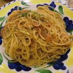 ラ・パウザ - 料理写真:ツナとトマトソース(大盛り)