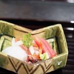 和ごころ 泉 - しび(本鮪幼魚) 金目鯛 もんごういか