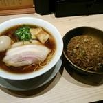 京紫灯花繚乱 - 中華そば+半チャーハンセット ¥980