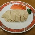 京華園 - 鶏の冷し肉