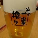 京華園 - 生ビール