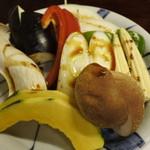 十々 - 焼き野菜@750