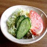 ステーキハウス桂 - 料理写真:セットのサラダ!