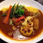 ぽか羅 - チキン野菜カレー
