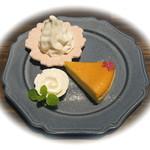 淡路町カフェ カプチェットロッソ - チーズケーキ