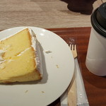 ホノルル コーヒー - シフォンケーキとコーヒー