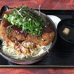 いも汁処 本丸 - ソースとろカツ丼(1,980円)