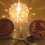 レストラン カフェ ショコラ - モカラテ