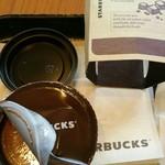 スターバックス・コーヒー - やっぱり3つのフタを開ける必要がある