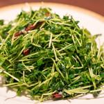 トウホクコウヤンテイ - 2016.12 炒豆苗(980円)トウミョウの炒め