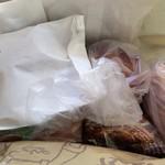トーホーベーカリー - 本日の買い物袋の中