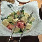 OHASHI - アボガドサラダ2016.12.25