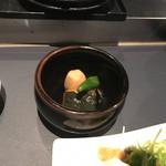 平林亭  展望閣 - 自家製!京野菜のおばんざい3種盛り