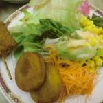 ホテルルートイン - 野菜の種類が少なかったデス