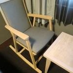 ホテルルートイン - この椅子座り心地良いです^^