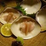 魚重楼 - 蛤の刺身