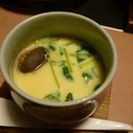 魚重楼 - 蛤茶碗蒸し