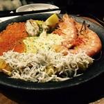 魚とワインhanatare - パエリア