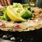 魚とワインhanatare - カルパッチョ