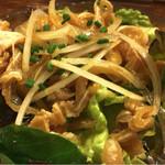 かりゆしナイト - ミミガーポン酢480円