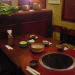 レストラン宮村 - レストラン宮村と言えばコレ!看板メニューのひとつ、ジンギスカンをいただきます。