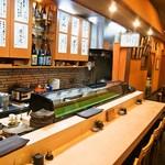 松寿司 - 店内