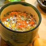 松寿司 - 茶碗蒸し セコガニあんかけ