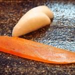 松寿司 - 自家製からすみ