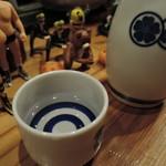 60690474 - 【日本酒熱燗1合】350円