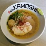 鶏 ソバ カモシ - 鶏soba・潮(750円)