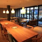 サーティーナインカフェ - 1階店内の様子