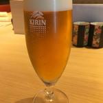 さかなや別邸 - ランチビール(400円)