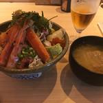 さかなや別邸 - 豪華海鮮丼(1500円)