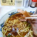 永龍軒 - メンマと麺