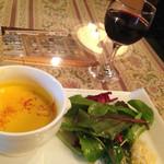 60695463 - 前菜+グラスワイン