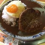 高畑まんま亭 - ハンバーグカレー