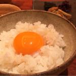 粋魚 むらばやし - 卵かけご飯♪