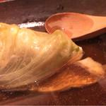 粋魚 むらばやし - コースの煮物、レタスと鯛