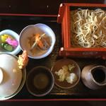 第一立花 - 海老天丼セット