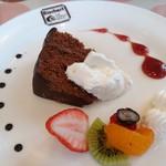 スイス菓子 バーゼル - コースのデザート