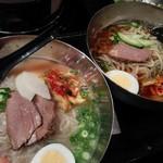 韓国苑 - 食べ放題コース(韓国冷麺&別府冷麺)