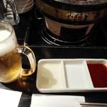 韓国苑 - 飲み放題(ビール系は金麦)